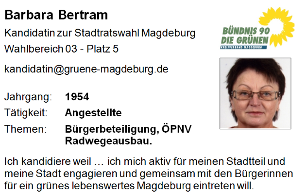 Barbara Bertram (Platz 5)
